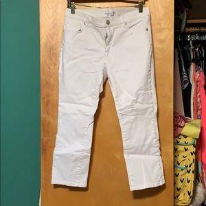 LOFT Crop Jeans